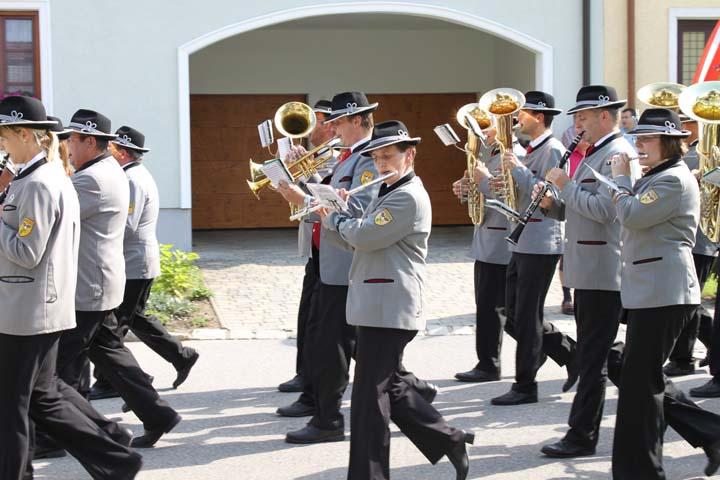 90 Jahre Musikverein Hanfthal am 08.08.2010