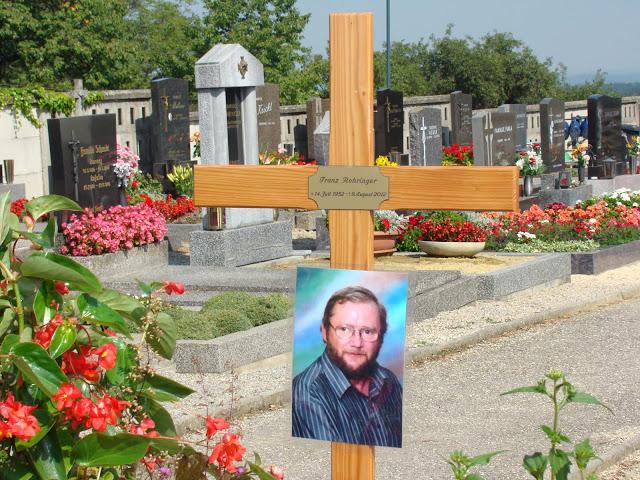 Begräbnis von Franz Rohringer am 18.08.2012