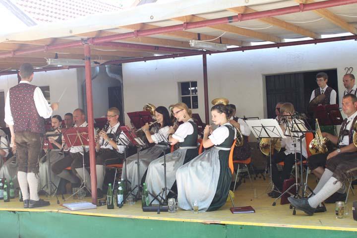 Musikantenheuriger in Altenmarkt am 11.07.2010