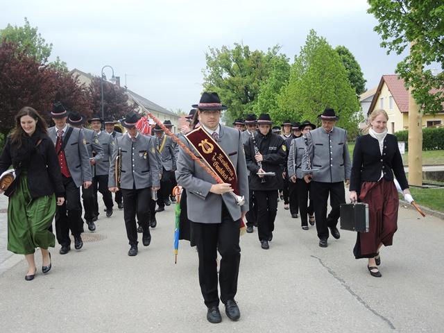 Tag der Blasmusik am 03.05.2015 in Kleinbaumgarten