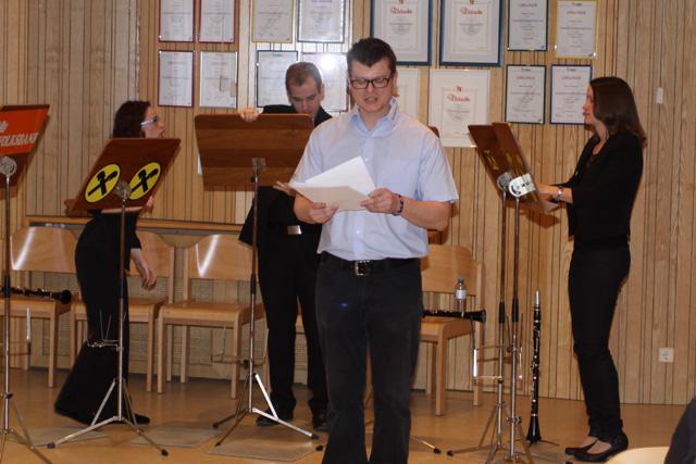 Kammermusikbewerb am 12.04.2015 in der Volksschule Gaubitsch