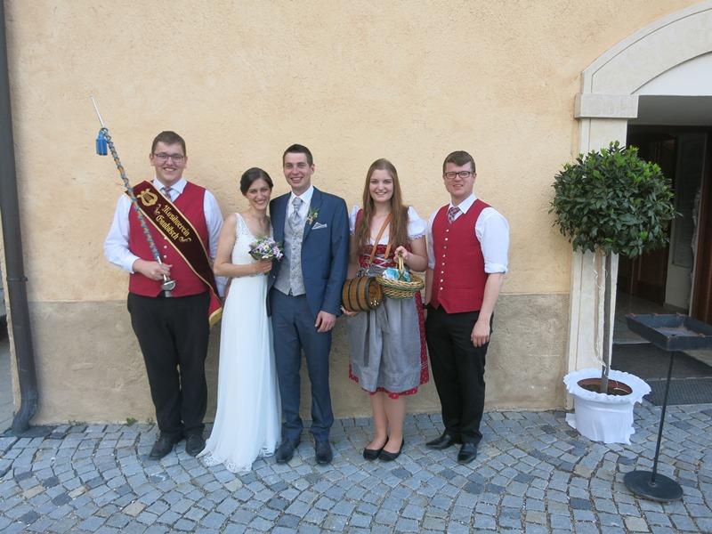 Hochzeit Isabella und Michael am 06.05.2017