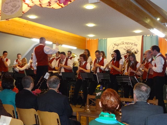Konzert MV Hanfthal am 15.03.2014