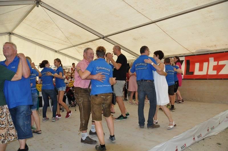 Frühschoppen Musikantenkirtag am 14.08.2016 in Unterstinkenbrunn