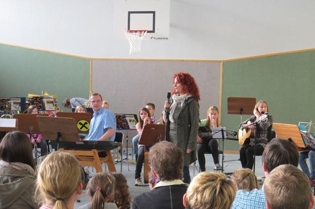 Schülerkonzert am 06.04.2016 in der VS Gaubitsch
