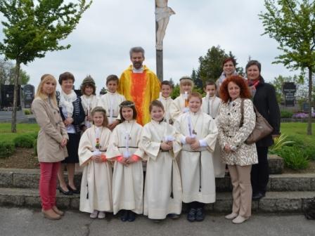 Erstkommunion am 05.05.2016