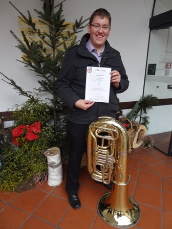 Stefan Schöfmann absolviert das JMLA in Gold